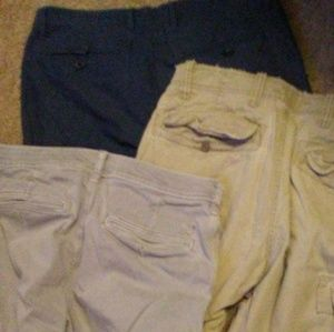 Bundle of 3 pairs of mens Preowned shorts